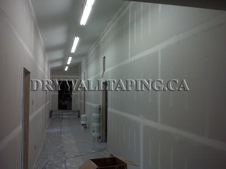 Commercial Drywall Taping Services