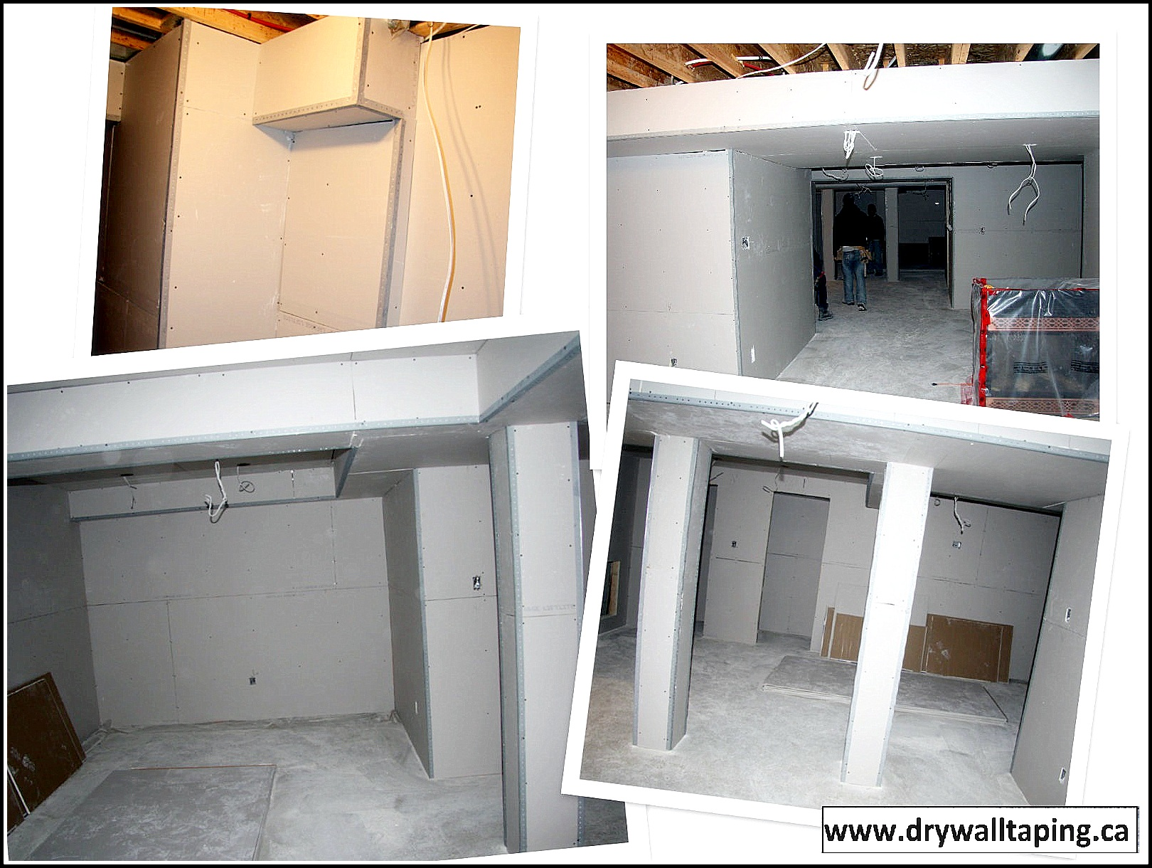 Drywall installation techniques