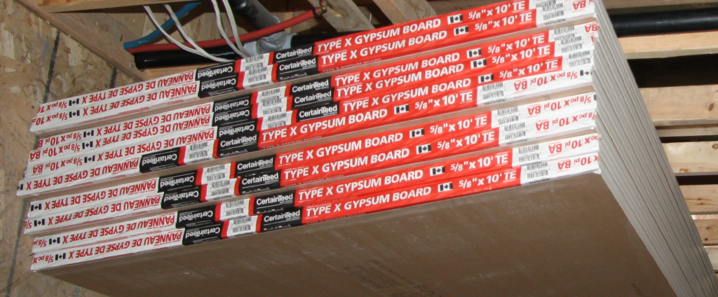 Drywall 5/8 FireRated Type X